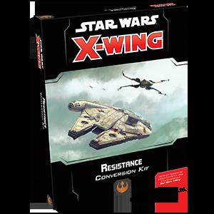 X-Wing Heroes of The Resist Fantasy Flight Games Star Wars
