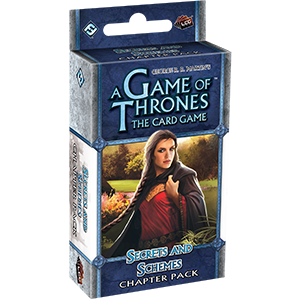 A Game of Thrones The Card Game Secrets and Schemes Chapter Pack