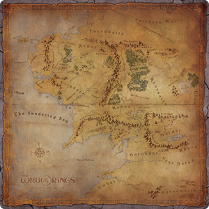 minecraft middle earth map