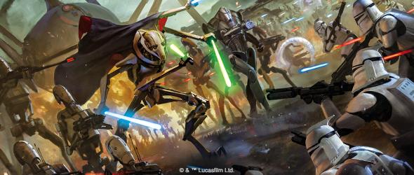 The Clone Wars Have Begun - Fantasy Flight Games