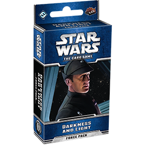 FANTASY FLIGHT LCG STAR WARS DARKNESS AND LIGHT FORCE PACK CARD GAME EXPANSION