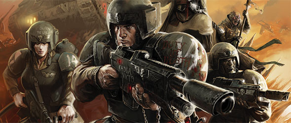Gear Up As A Guardsman Of The Imperial Guard Fantasy Flight Games