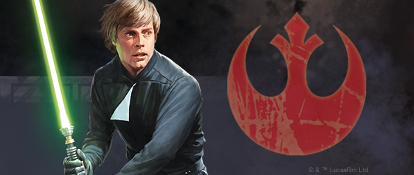 Star Wars Imperial Assault Ally Pack Luke Skywalker Fantasy Flight