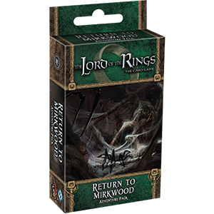 Cycle 1 Lord of the Rings Dividers 7pcs Shadows of Mirkwood Set