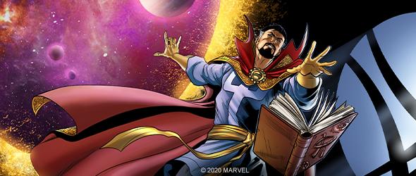 Marvel Team-Up TCG CCG Classic Played Strange Sorcerer Supreme VS System: Dr