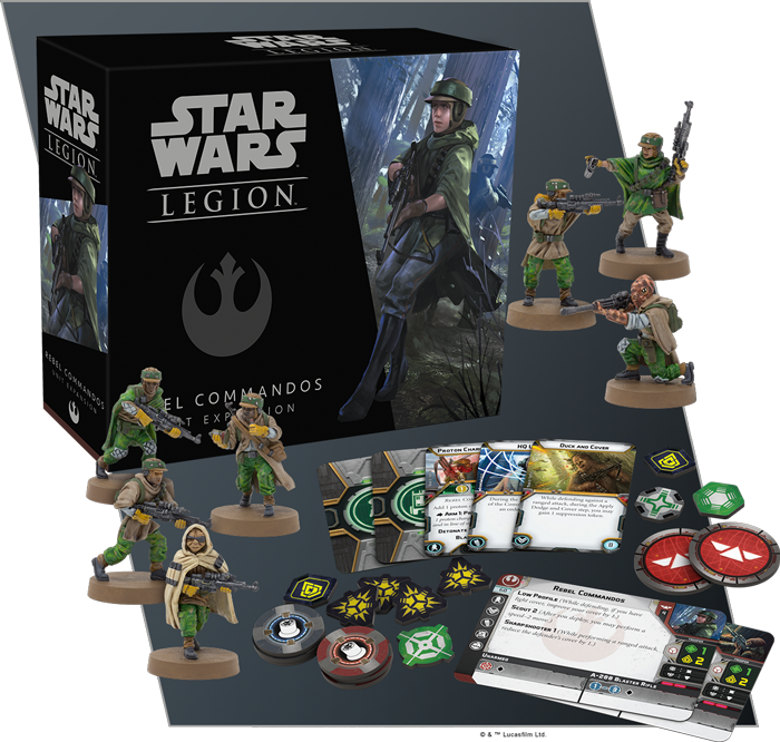 Legion Han Solo plus Rebel Commandos SWL20,SWL21 Star Wars