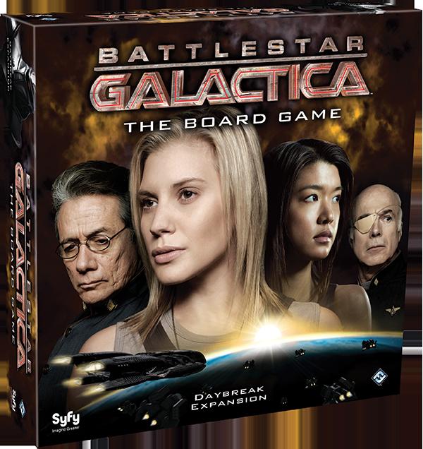 Battlestar Galactica: Daybreak Expansion (T.O.S.) -  Fantasy Flight Games