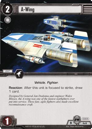 Cartes du Core Set A-wing