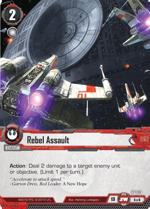 Cartes du Core Set Rebel-assault