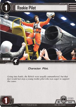 Cartes du Core Set Rookie-pilot