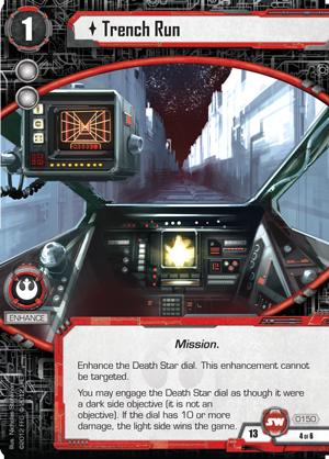 Cartes du Core Set Trench-run