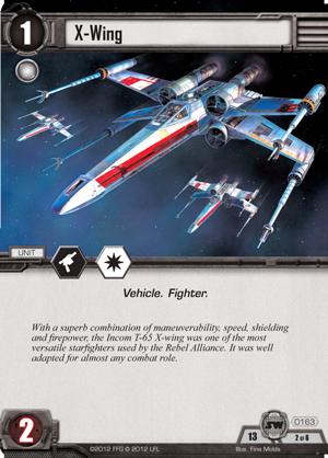 Cartes du Core Set X-wing