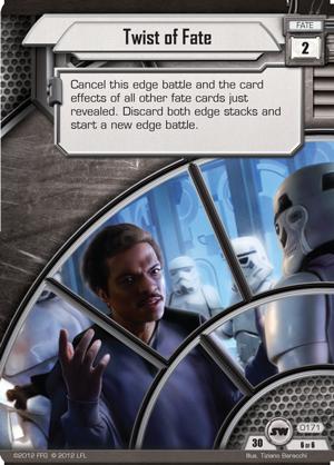 Cartes du Core Set Twist-of-fate