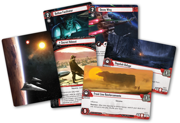 Star wars lcg – balance of the force nέο εxpansion on july 17th