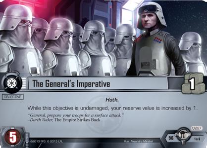 [Le Cycle de Hoth] Paquet de Force 4 : L'Attaque de la Base Echo - Assault on Echo Base The-generals-imperative