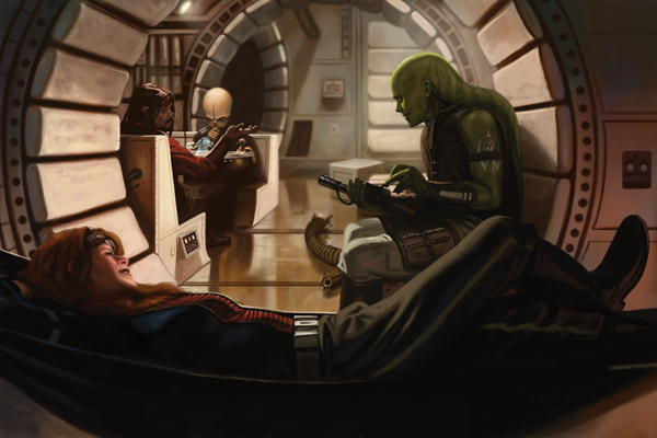 One Hour Library Review: Star Wars Edge of the Empire RPG ...