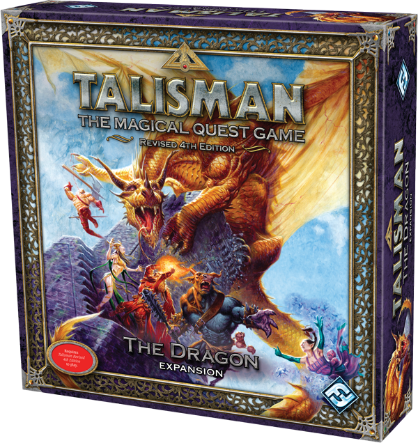 Talisman board game 4th edition base game and expansion lot the.