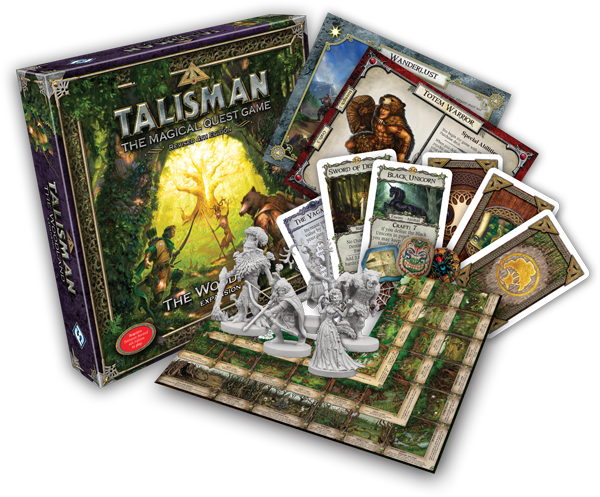 Fantasy Flight Games: Talisman The Woodland Expansion