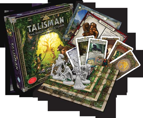 Fantasy Flight Games: Talisman The Woodland Expansion