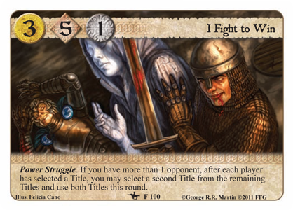 A Tale of Champions; 5ème Chapitre; Trial by Combat I-fight-to-win
