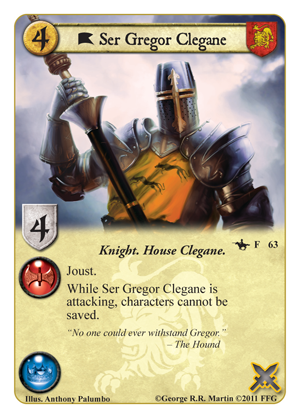 A Tale of Champions; 4ème Chapitre; Where Loyalty Lies Ser-gregor-clegane