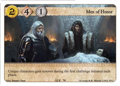 Beyond the Narrow Sea; 4ème Chapitre; A Harsh Mistress Men-of-honor