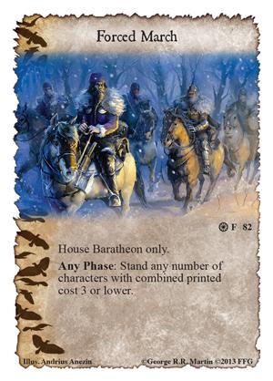 [Kingsroad] 5ème chapitre, Forgotten Fellowship Forced-march
