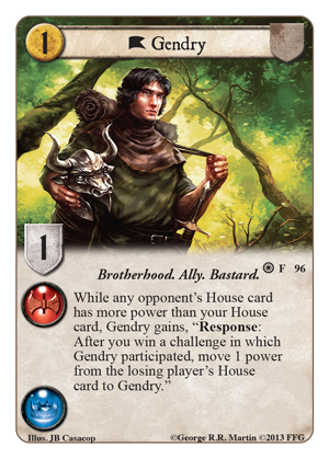 [Kingsroad] 5ème chapitre, Forgotten Fellowship Gendry