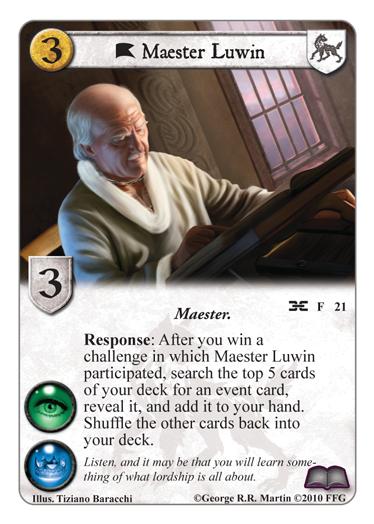 Secrets de Villevieille; 2nd Chapitre... Maester-luwin