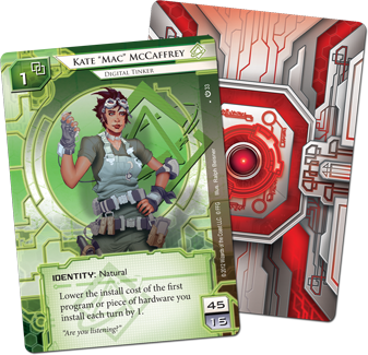 android netrunner how to play corporation