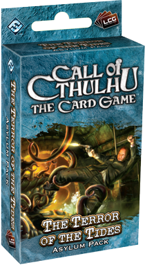 Настольная игра  Call of Ctulhu The Card Game - The Terror of the Tides