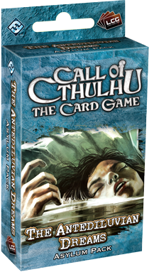 Настольная игра  Call of Ctulhu The Card Game - The Antediluvian Dreams