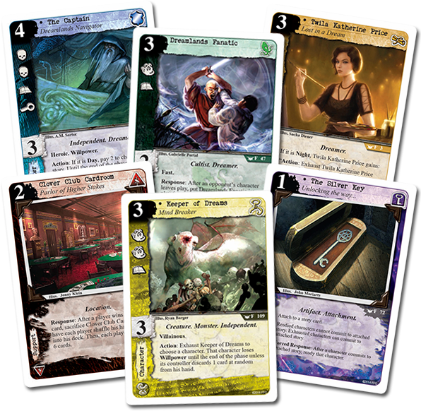 Enter the Dreamlands - Fantasy Flight Games
