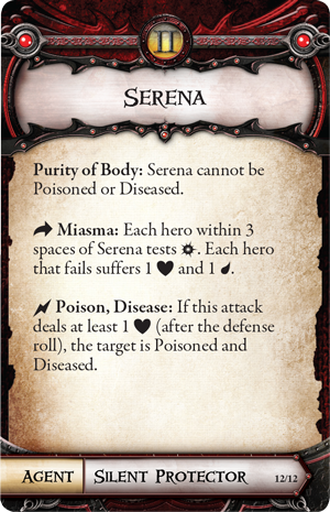 Serenau0027s Plot Deck Gives A Distinct Boost To Monsters With The Civilized  Trait, Often Spreading Serenau0027s Healing Aura To The Other Minions Of The  Overlord.