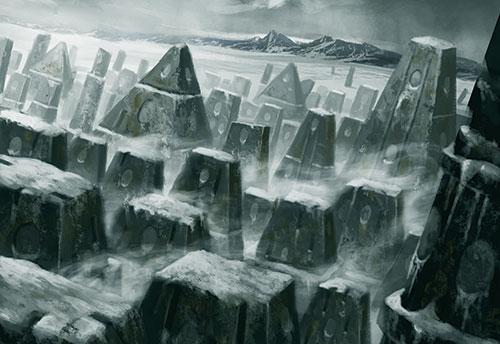 Resultado de imagen de antartida mountains of madness