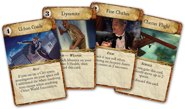Image result for eldritch horror asset cards png