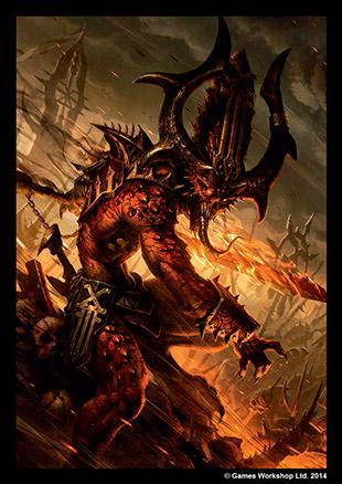 [Accessoires] Protèges cartes FFG Conquest GWS10_chaos-daemon-sleeve