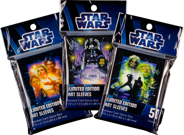 Star Wars FFG Standard Destiny Size Card Sleeves 50 count Han Solo