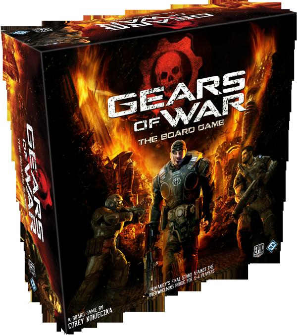 GEARS OF WARS. FFG anuncia ¿un nuevo DOOM? cooperativo 1-4 jugadores Box-gears-of-war-left