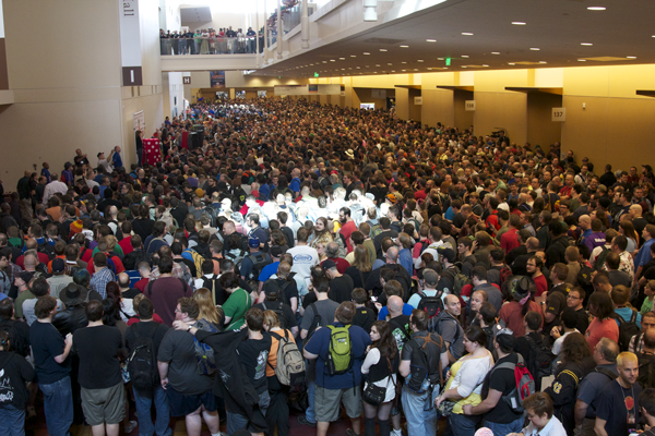 GenCon is a board game convention that's growing every year!