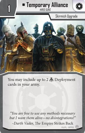 Resultado de imagen de imperial assault temporary alliance