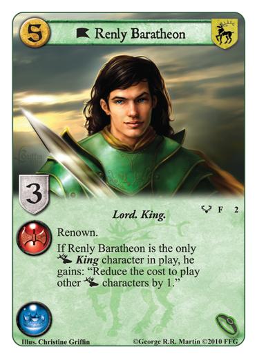 Kings of the Storm: disponible entre le 21 et le 28 Octobre en VF Renly-baratheon-lg