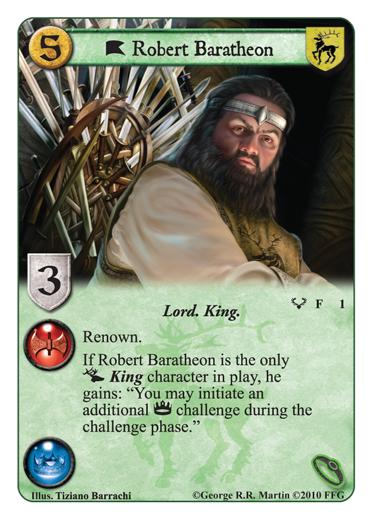 Kings of the Storm: disponible entre le 21 et le 28 Octobre en VF Robert-baratheon-lg