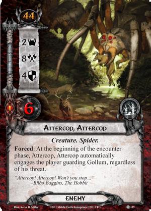 [Quête - Retour à Mirkwood] Attercop, Attercop et dangers de la forêt [Résolu] Attercop-attercop