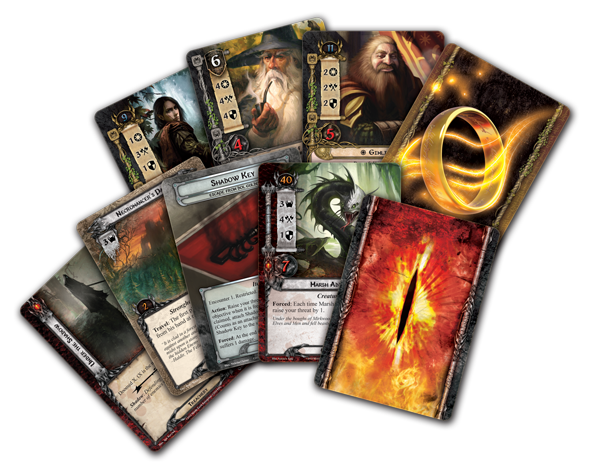Image result for lord of the rings card game