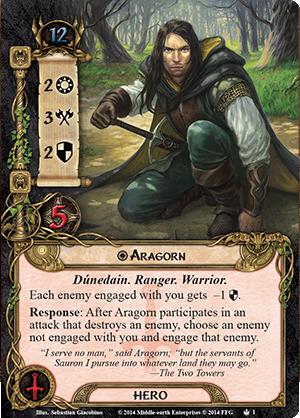 Ordre des Réponses/Attaques/Destruction Aragorn