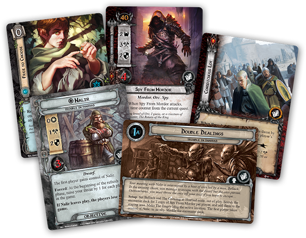 1x Seedy Inn  #077 Trouble in Tharbad Lord of the Rings LCG