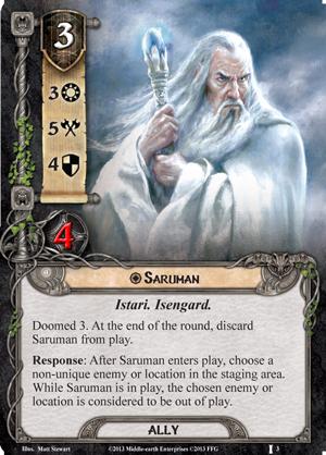 [Question] Effets en fin de tour (Saroumane + Entrée de la caverne + Réfugié Sylvain) [Réponse Officielle] Saruman