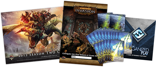 2013 Season 2 Warhammer Invasion League kit