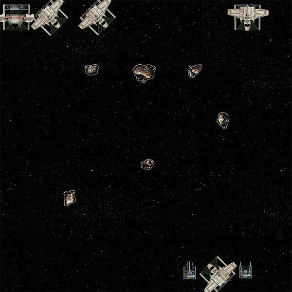 asteroid x wing placement - photo #12